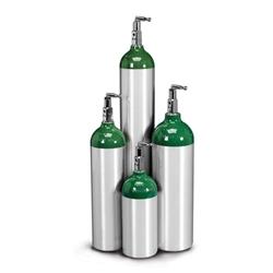 Oxygen Cylinder, Aluminum