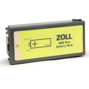 Battery, AED Pro Non-Rechargeable Lithium Battery Pack