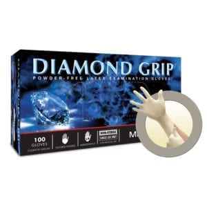 Gloves, MicroFlex Diamond Grip,