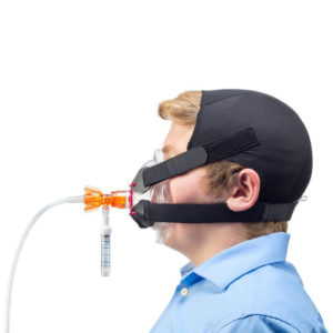 CPAP, O-Two Delivery System with Manometer, Mask