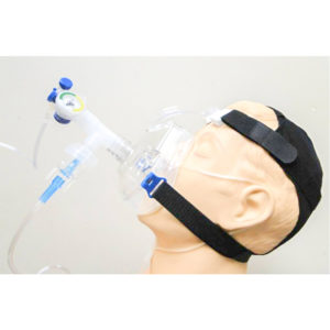 CPAP, Flow-Safe II with Straight Swivel Port, Headstrap, Nebulizer, Tee, O2 Tubing
