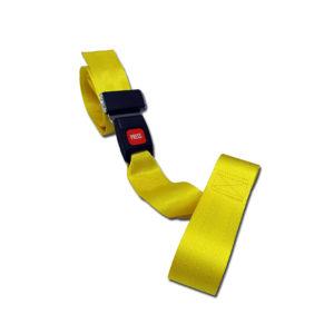 Backboard /cot strap, 2-Piece Loop-Lok Auto Buckle, 7' Nylon