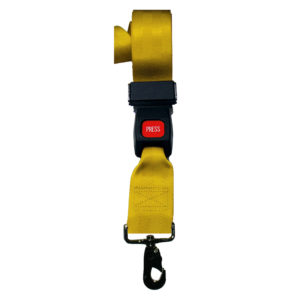 Backboard Strap, 2-Piece Speed-Clip Auto Buckle 5' Nylon
