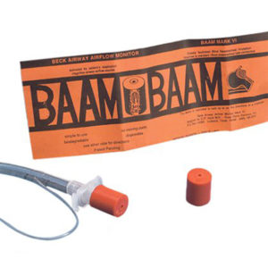 BAAM Beck Airway-Air Flow Monitor