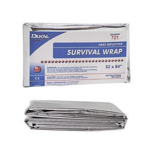 Blanket, Silver Survival Wrap