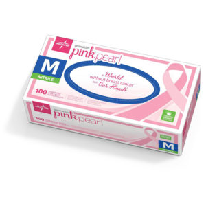 Medline Generation Pink Nitrile Exam Gloves