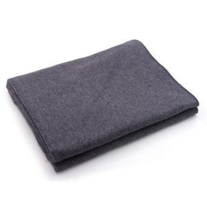 Wool Blanket, 80% Dark Gray