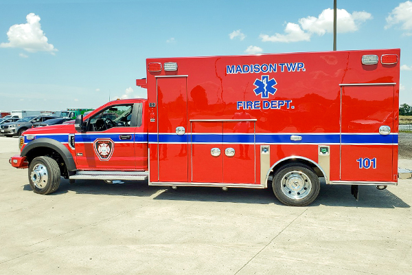 Recently Delivered, Stock Units, Pre-Owned Ambulances - Penn