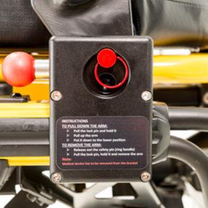 Stretcher Safety Arm System, Technimount, Clamp Block