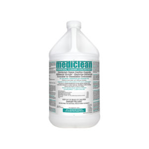 Fogger Solution, Vector Fog C100 + Mediclean Germicidal Cleaner Concentrate