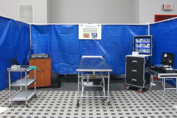Body Processing & Identification Disaster Portable Morgue Unit - DPMU